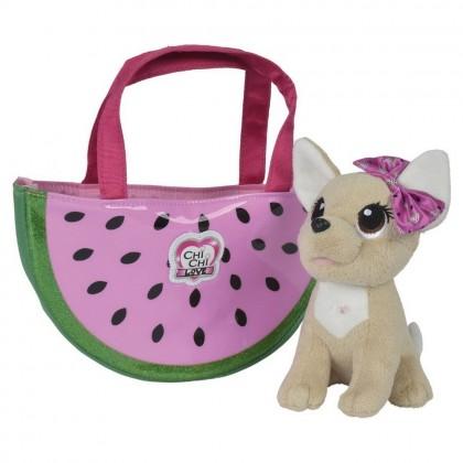 Simba 5893116 Собачка Chi Chi Love с сумочкой Фруктовая мода