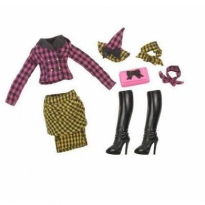 Аксессуары для кукол Bratzillaz 515883 Набор одежды ШКОЛА ВОЛШЕВБНИКОВ