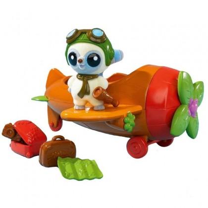Simba 5950591 Зверёк YooHoo и самолет