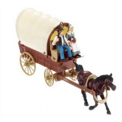 Фигурки Simba 4415822 Повозка с лошадью