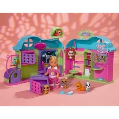 Кукла Simba 5737476 Эви Ветеринарная клиника