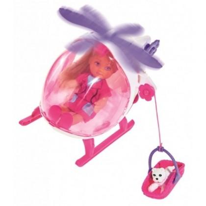 Simba 5739469 Кукла Evi и спасательный вертолет