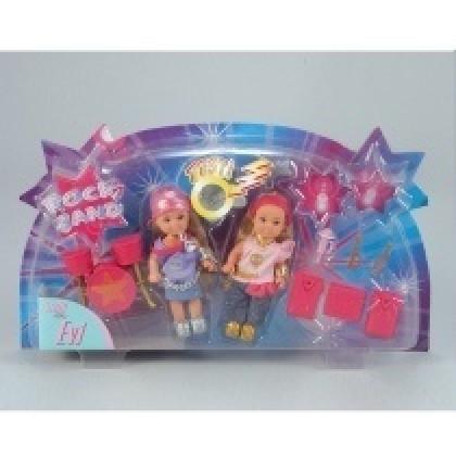 """Simba 573-5253 Кукла """"Эви"""" и рок-группа"""