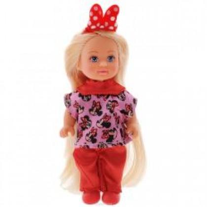 Simba 5746513 Кукла Evi Minnie Mouse с длинными волосами