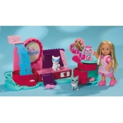 Кукла Simba 5737475 Эви Спа салон для животных