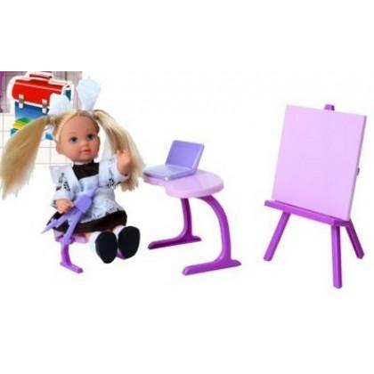 Simba 5739124 Кукла Evi школьница