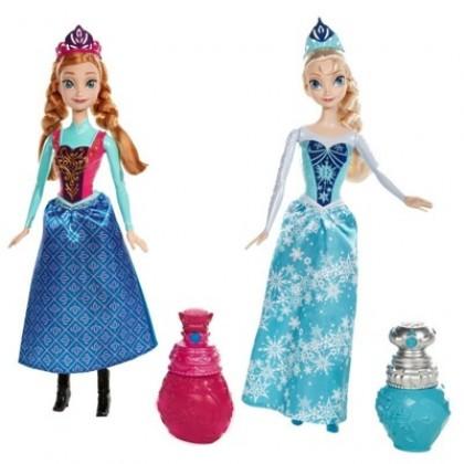 Mattel BDK32/BDK33 Frozen Анна/Эльза Королевский Наряд
