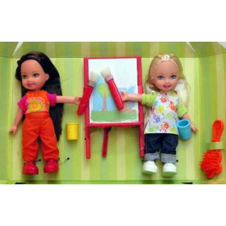 Mattel K0359 Шелли с сестрой 15 см