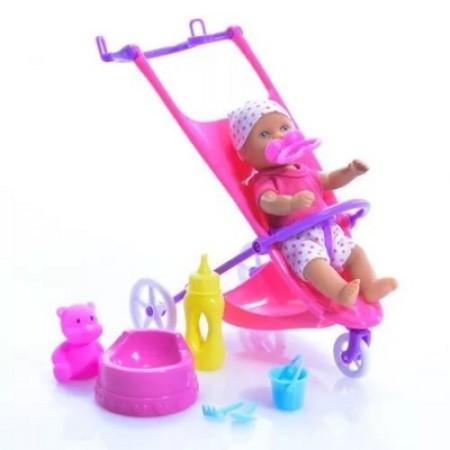 Simba 5030928 Пупс с коляской