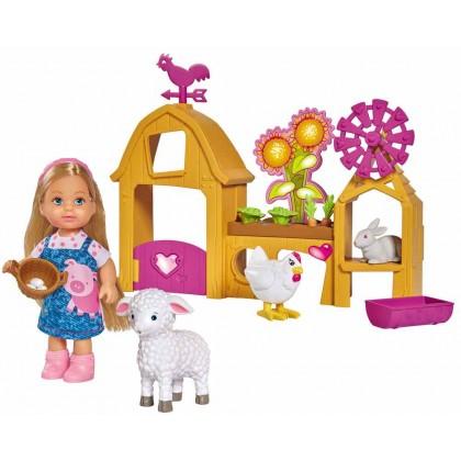 Simba 5733075 Кукла Эви Счастливая ферма