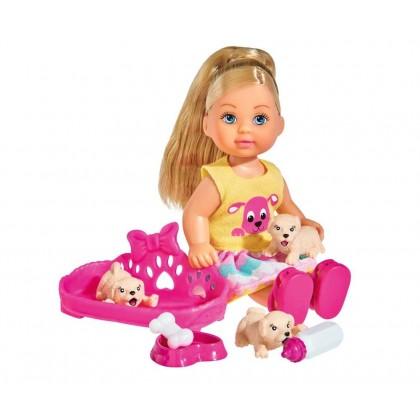 Simba 5733041 Кукла Evi с собачками
