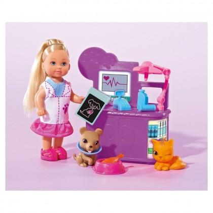 Simba 5732798 Кукла Evi ветеринар