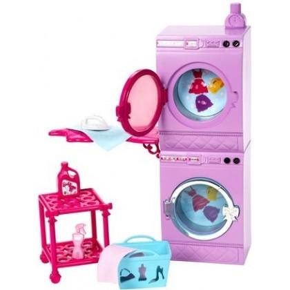 Аксессуары для кукол Mattel X7938 Набор мебели СТИРКА