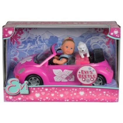 Simba 5731539 Кукла Evi с машиной