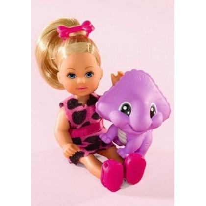 Simba 5730940 Кукла Эви с динозавриком