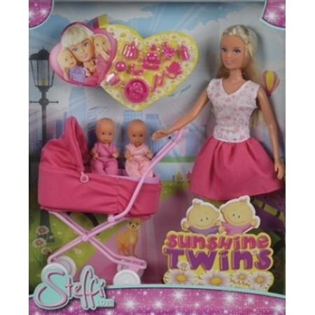 Simba 5738060 Кукла Steffi с большой коляской