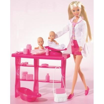 Simba 5732608 Кукла Штеффи детский врач