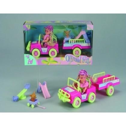 Кукла Simba 5739602 Куколка Эви на машине