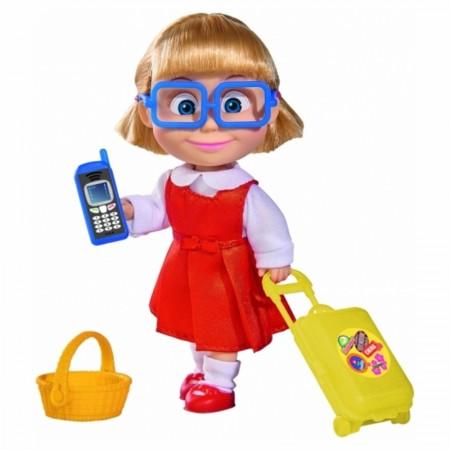 Simba 9301013 Кукла Маша с чемоданчиком