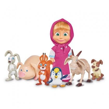 Simba 9301020 Кукла Маша с животными