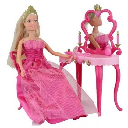 Simba 5733197 Кукла Steffi Принцесса со столиком