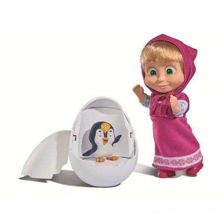 Simba 9301003 Кукла Маша с пингвинёнком