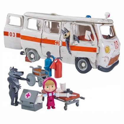 Simba 9309863 Кукла Маша и Скорая помощь