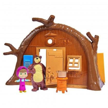 Simba 9301632 Кукла Медведь Миша с домиком и мебелью