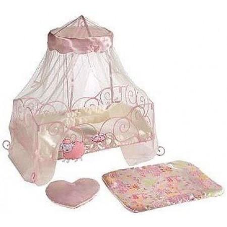 Аксессуары для кукол Zapf 763254 Baby Annabell Кроватка металлическая