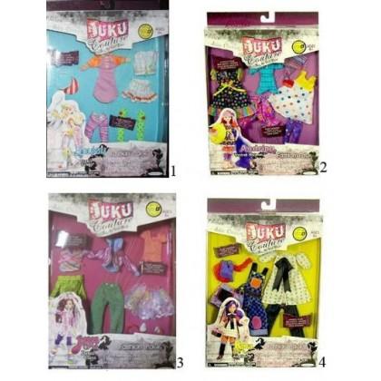 Аксессуары для куклы JAKKS PACIFIC 37940 Набор одежды Джуку