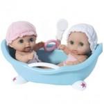 Кукла JC Toys 16980 Пупсы в ванной TWINS