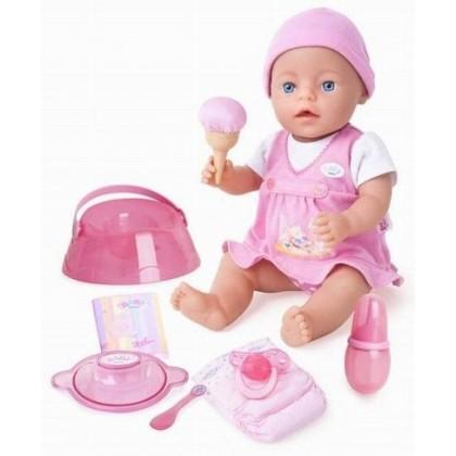 Кукла Zapf 814314 BABY BORN Покорми меня