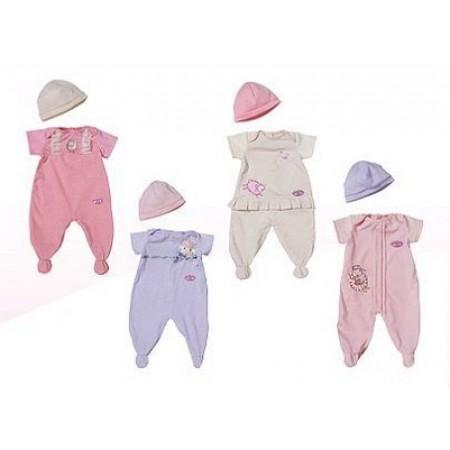 Аксессуары для кукол Zapf 789056 Baby Annabell Комбинезончик и шапочка