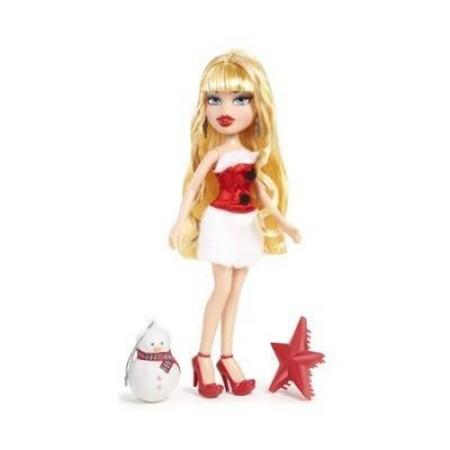 """BRATZ 515289 Кукла """"Праздничная"""" с елочным украшением, Хлоя"""