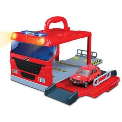 Паркинг BBurago 18 32021 Street Fire Переносной набор с машиной