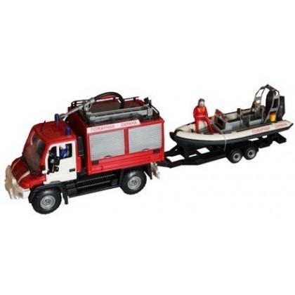 Dickie 3314867 Автомобиль Спасатель с катером