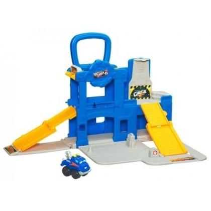 Для самых маленьких Playskool 07439 Гараж с машинкой