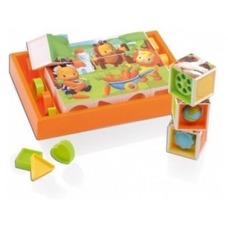 Для самых маленьких Smoby 211126 Cotoons Кубики развивающие