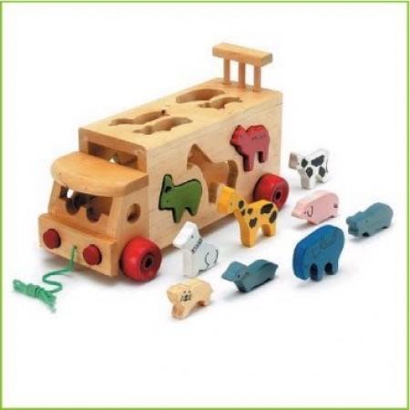 Для самых маленьких BENHO YT6027 Машина Зоопарк