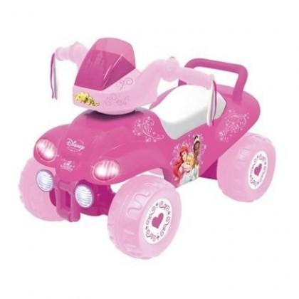 Каталка Kiddieland 47662 Квадроцикл Принцесса розовый