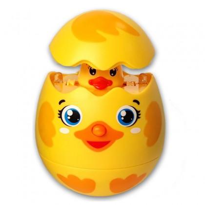 Азбукварик 28216 9 Игрушка музыкальная Утёнок в яйце