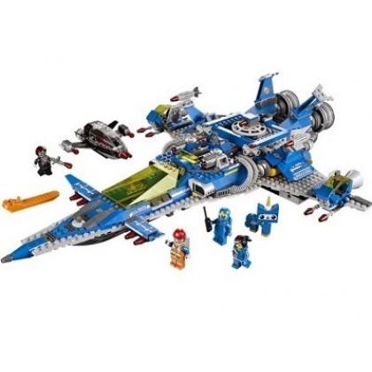 Конструктор LEGO 70816 MOVIE Космический корабль Бенни