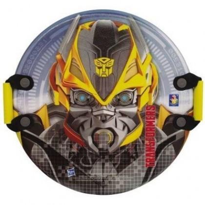 Санки 1Toy Т56913 Ледянка с ручками Transformers