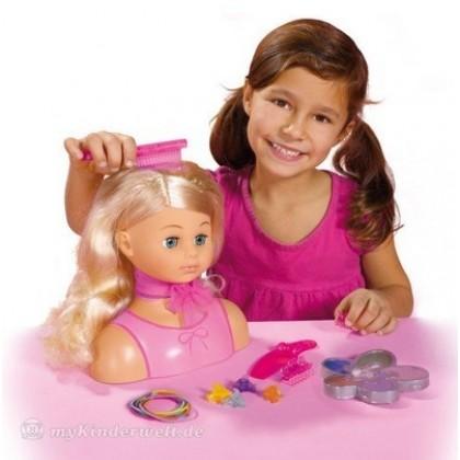 Набор для девочек Simba 5564348 Голова Создай стиль