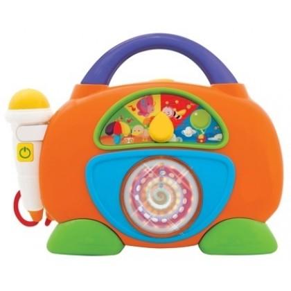 Kiddieland 47894 Игрушка Радио музыкальное с микрофоном (свет, звук)