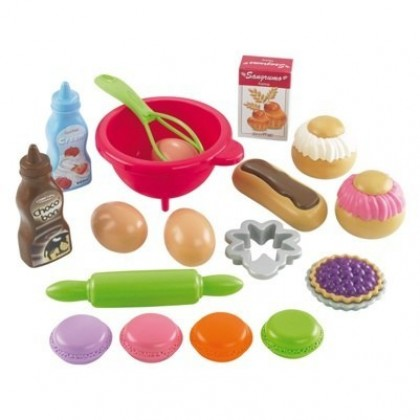Набор для девочек Ecoiffier 952 Десерт
