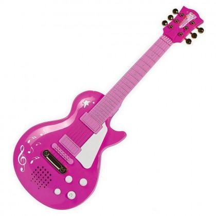 Simba 6830693 Рок гитара розовая