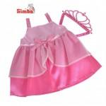 Simba 5402486 Платье принцессы для пупса