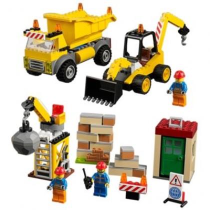 """LEGO 10734 """"Юниор"""" Стройплощадка"""