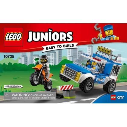 """LEGO 10735 """"Юниор"""" Погоня на полицейском грузовике"""